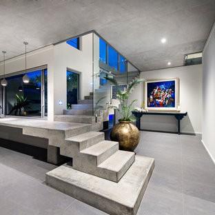 монтаж бетонных лестниц