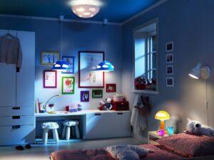 выбор светильников для детской