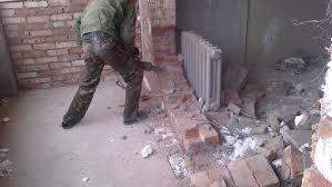 демонтаж несущей стены в доме