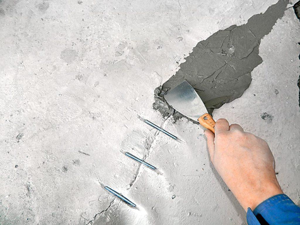устранить трещины на фасаде