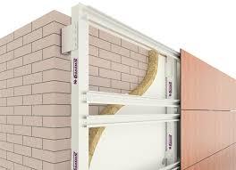 вентилируемый фасад сухим способом